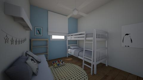 I and J bunk 12 - Kids room - by erlichroni