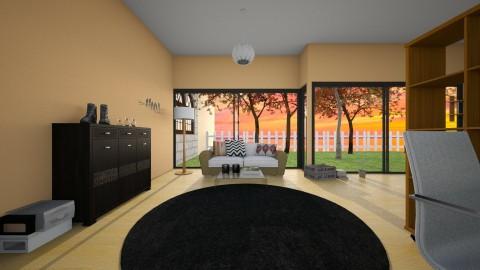 Dream House - Living room - by sil_vik