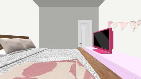 pinkish room - by mlhe