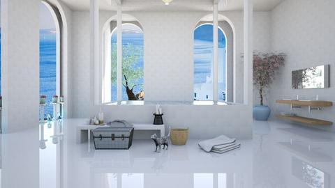 Bath in Athens - Bathroom - by elephant in savanna