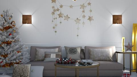 STARS - Living room - by matina1976