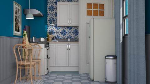 Just a tiny kitchen - Vintage - Kitchen - by HenkRetro1960
