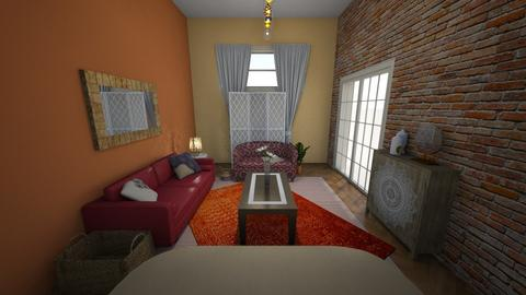 Sunset Room - Rustic - Living room - by zoe128