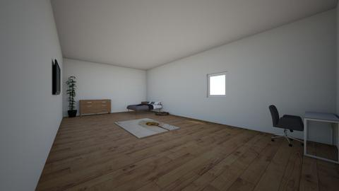 room project - Minimal - Bedroom - by jt182214