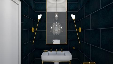 1920s Gilt - Bathroom - by babbjii
