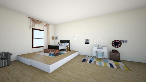 Girls - Bedroom - by Graciesilver4