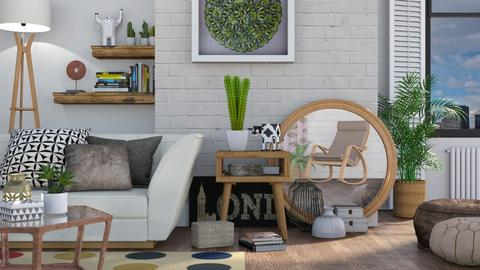 Eclectic Living 2 - Living room - by LB1981