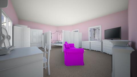 Princess Bedroom - Kids room - by najiwoo61