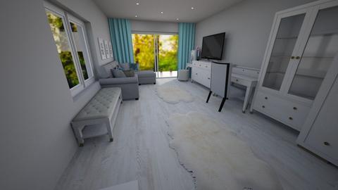 wnetrze - Bedroom - by pasja_