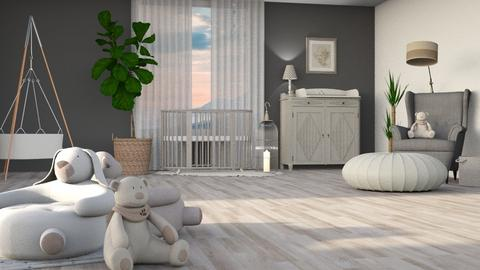 Citizen OAK - Kids room - by jagwas