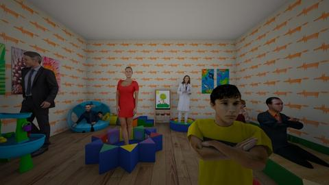 Weird Thing Daycare - Masculine - Kids room - by PoppiCat