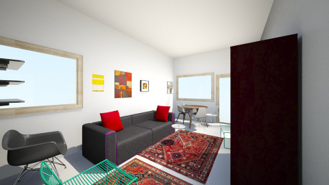 Olohuone 1.2 - Living room - by Essi_eames