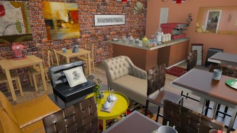 coffe shop - by lesiecastle