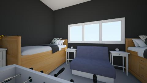 Dorm room - Bedroom - by n13jnj