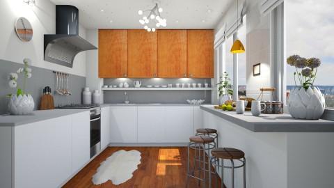 The - Kitchen - by Liu Kovac