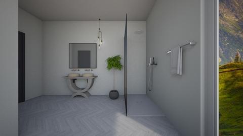 b - Bathroom - by filipesoares1992
