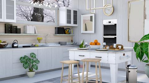 Winter Kitchen - Kitchen - by millerfam