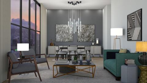 Lauren - Living room - by aletamahi