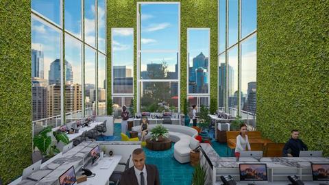 Urban Jungle Office - Office - by jjp513