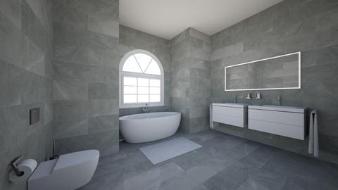 bathroom - Modern - Bathroom - by 0liviaRosee