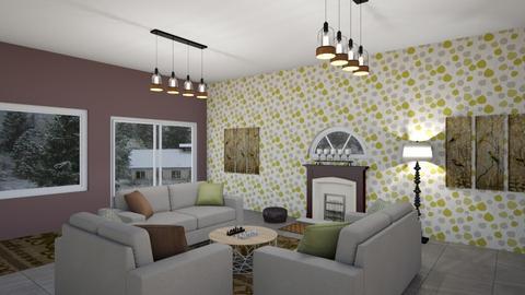cozy winter hideaway - Living room - by talk2crabbie