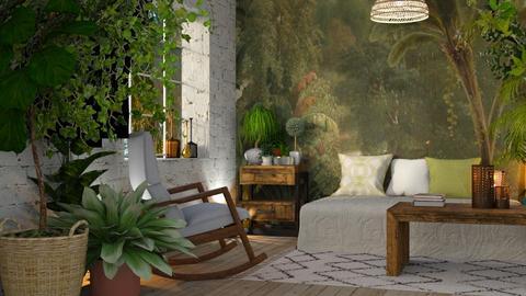 jungle - Living room - by anjaam