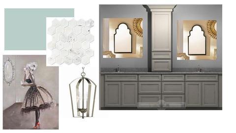 bathroom Laura  - by thriftydesigns