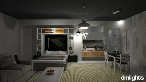 Studio Apartemen - Vintage - by DMLights-user-1347177