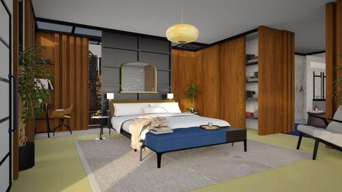 mcm - Bedroom - by marinmarin