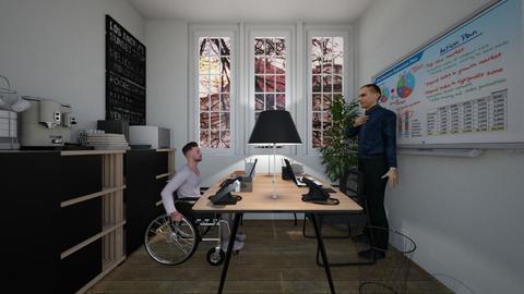 Office - Modern - Office - by nickynunes