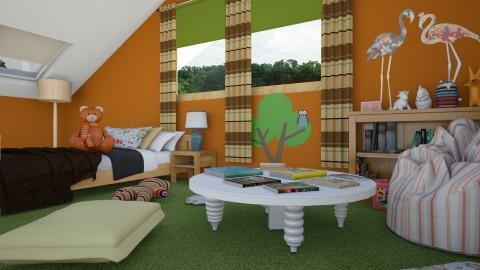 Attic - Eclectic - Kids room - by katarina_petakovi