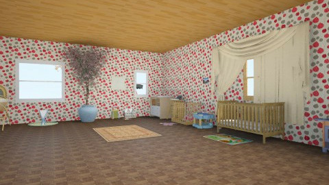 babies room - Glamour - Kids room - by omggirl67