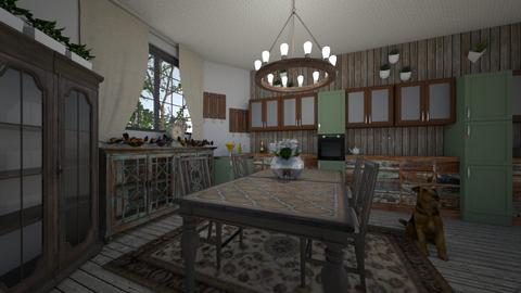 charming kitchen - Rustic - Kitchen - by kla