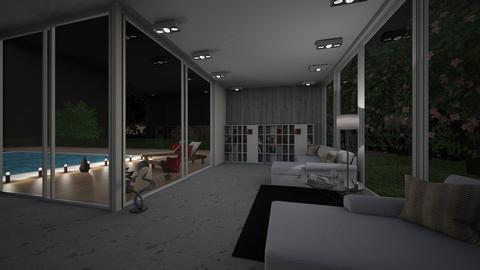 SubUrban luxury - Living room - by Ch4li3_F4ll0n