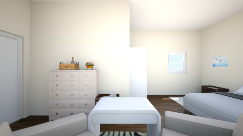 modern bedroom - Glamour - Bedroom - by Rebenksa