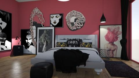 Maximalist Bedroom - by matina1976