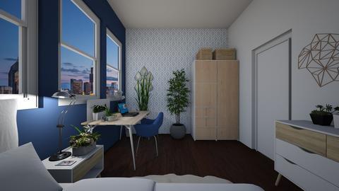Milica  - Bedroom - by MilicaDesign