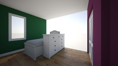 Chambre - Bedroom - by umorsa