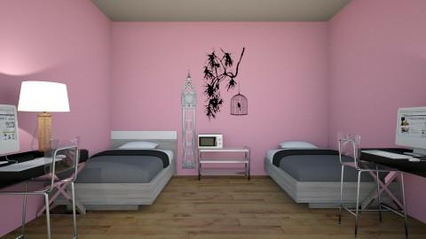 dorm room - by shayna101