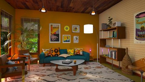 70s - Living room - by smunro7