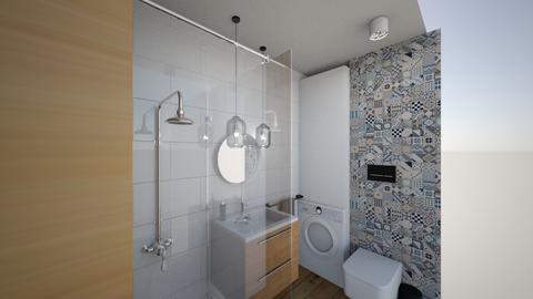 LAZIENKA JAGIEL - Bathroom - by LUXLAMPY