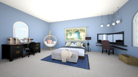 dream room - Bedroom - by eaziz