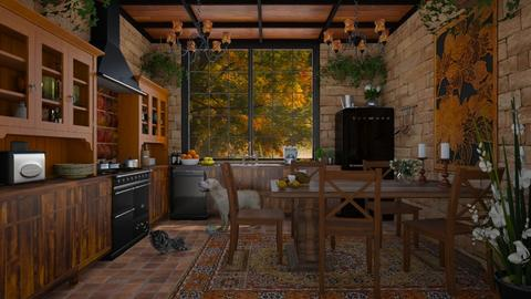 Design 445 Bohemian Kitchen - Kitchen - by Daisy320