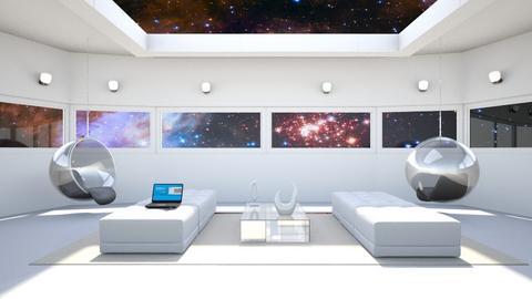 Mariko Mori Inspired - Living room - by anamarijag00
