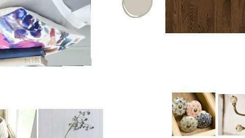 Bahars bedroom mood board - by golpiram