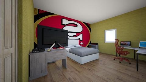 my favorite room - Bedroom - by Villai21