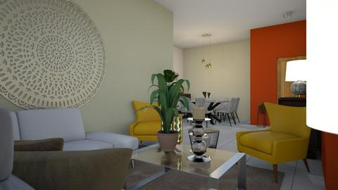 apartamento  - Living room - by Yaneris