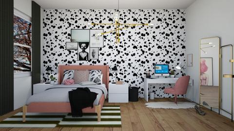 Teen bedroom - Bedroom - by evemorgan96