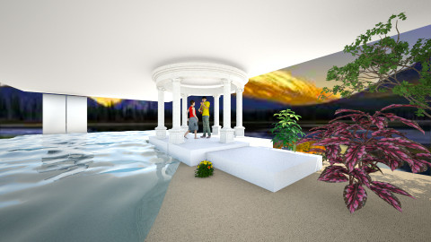 pavilion - Glamour - Garden - by kalanip