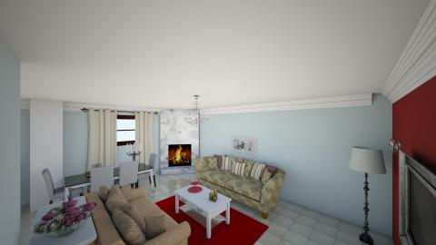 living room 0111 - Living room - by Maria Eleni Bataki